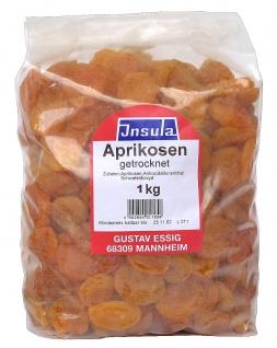Aprikosen von Insula getrocknet entsteint Trockenfrüchte 1000g