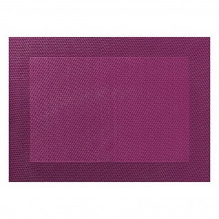 PVC-Tischset 33x46cm aubergine