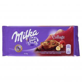 Milka Collage Himbeere, 93 g