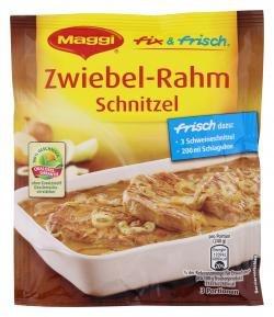 Maggi Fix für Zwiebel-Schnitzel