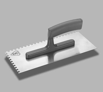 Glaettekelle 10x10 mm gezahnt