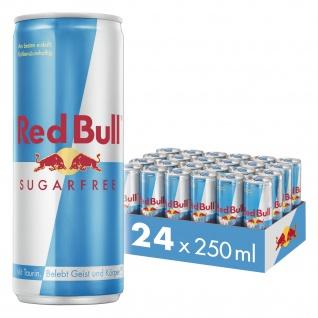 Red Bull Sugarfree koffeinhaltiges Erfrischungsgetränk 250ml 24erPack
