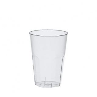 Einweg Becher glasklar Polystyrol 300 ml von Papstar 30 Stück