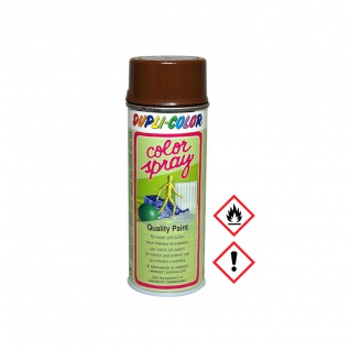 Dupli Color 625770 Color Spray in Nußbraun und glänzend 400ml