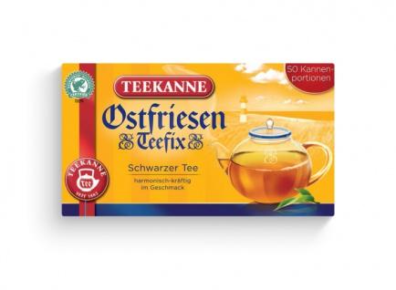 Teekanne Ostfriesen Teefix Schwarzer Tee harmonisch kräftig 140g