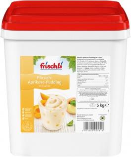 Frischli Fruchtpudding Pfirsich-Aprikose leckere Dessertcreme 5000g