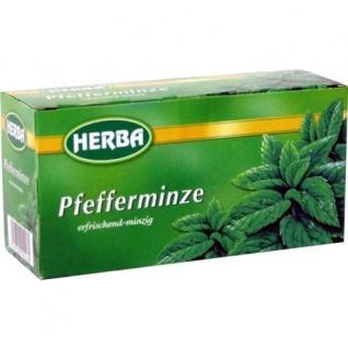 Herba Pfefferminztee 20 Beutel von Teekanne für Genießer 30g