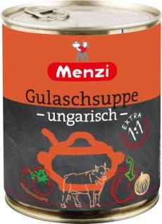 Menzi Ungarische Gulaschsuppe Extra konzentriert pikant 800ml