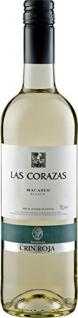 Bodegas Crin Roja Las Corazas Macabeo Weißwein aus Spanien 750ml