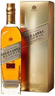 JohnnieWalkerGoldLabelReserve Blended Scotch Whisky (1 x 0.7 l)