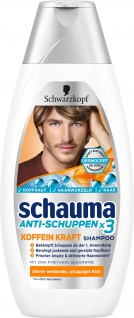 Schwarzkopf Schauma Shampoo Anti Schuppen Koffein Kraft 400 ml