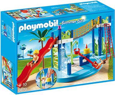 PLAYMOBIL 6670 - Wasserspielplatz - Vorschau