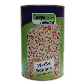 Cuisine Noblesse Weiße Bohnen mit Suppengrün (4250 ml Dose)