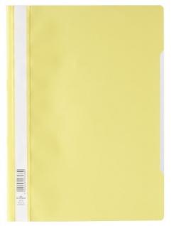 DURABLE Sichthefter mit transparentem Vorderdeckel gelb DIN A4