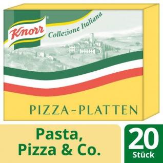Unilever Knorr Pizzaplatten vorgebacken 20 Stück Aus Hefeteig 8000g