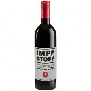 Impfstoff Rotwein Zweigelt Merlot aus der Spaßapotheke 750ml
