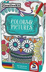 Schmidt Spiele 51403 51403-Creative Kit, Farben und Bildern