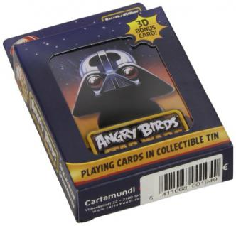 Cartamundi 22500194 - Angry Birds Star Wars Spielkarten, Darth Vader