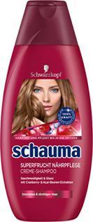 Schauma Superfrucht Nährpflege Shampoo, 4er Pack (4 x 400 ml) - Vorschau