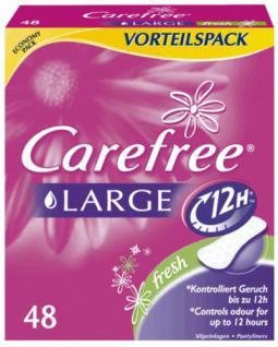 Carefree Slipeinlage Plus Large Fresh, 1er Pack (1 x 48 Stück) - Vorschau