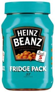 Heinz Baked Beans Fridge Pack Weiße Bohnen in Tomatensauce 1000 g