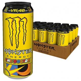 Monster Energy Drink The Doctor Erfrischungsgetränk 500ml 24er Pack