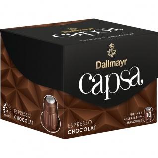 Dallmayr 10 Capsa Espresso Chocolat für ihre Nespresso Maschine 56g
