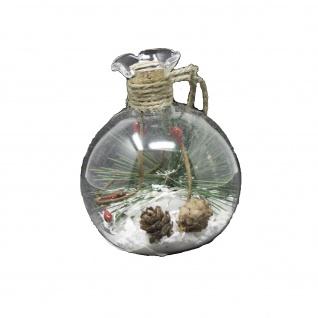 Glaskugel beleuchtet 8 cm