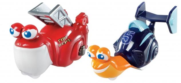 Mattel TUR Rennschnecken 2er-Pack Sor