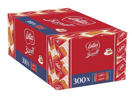 Lotus Biscoff Karamellgebäck perfekt zu Heißgetränken 300 Stück