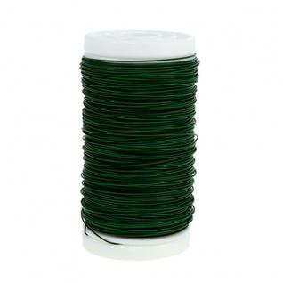 Hansen und Rosenthal Bindedraht in grün 35mm zum Dekorieren 100g