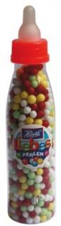 Heinerle Babyfläschchen mit Liebesperlen Zucker Dragees 75g 12er Pack