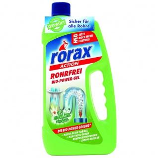 rorax Rohrfrei Bio Power Gel Rohrreiniger Biorezeptur 1000ml 2er Pack