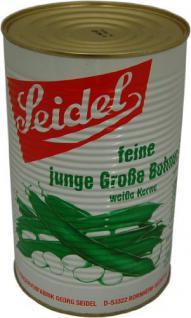 Seidel Grosse Bohnen weisse Kerne 2, 655kg