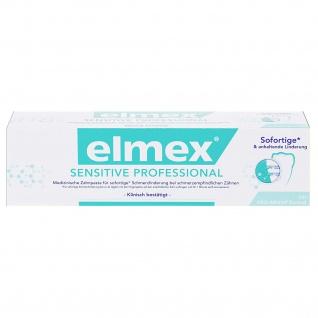 Elmex Sensitive Professional Zahnpasta perfekte Mundhygiene 75ml 3er Pack