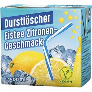 Durstlöscher Eistee Zitrone Fruchtsaftgetränk 500ml 48er Pack