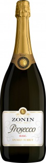 Zonin Prosecco Spumante brut DOC Schaumwein aus Italien 1500ml