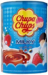Chupa Chups Lollipops Dose 100 Stück verschiedene Sorten 1200g