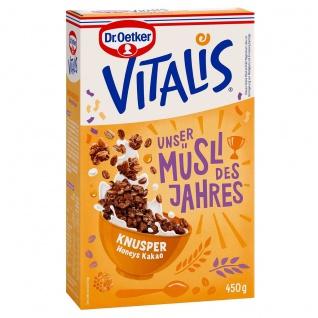 Dr. Oetker Vitalis Müsli des Jahres Knusper Honeys Kakao 450g