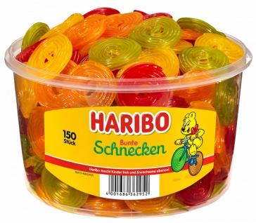 Haribo Frucht Schnecken Fruchtgummi Weingummi gelatinefrei 1200g
