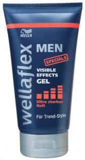 Wellaflex Men Visible Effects Gel ultra starker Halt 6er Pack