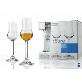 Obstlerglas Schnapsglas Grappaglas Montana Serie Pure 20ml 6er Set