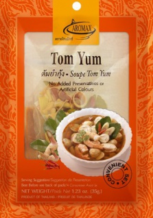 Aromax Gewürzmischung mit Paste für Tom Yum Suppe 35g 6er Pack
