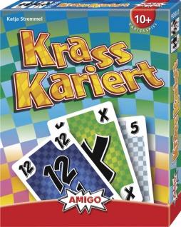 Amigo Krass Kariert Ein tolles Kartenspiel für die ganze Familie