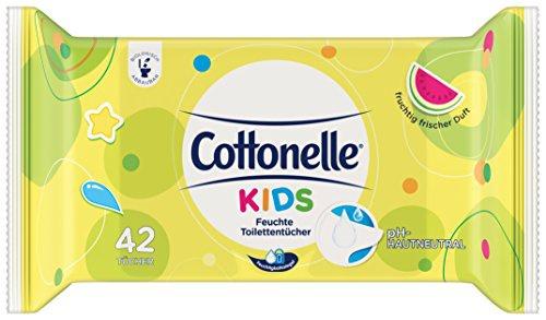 Cottonelle Feuchte Toilettentücher Kids Nachfüller (42 Tücher), 6er Pack