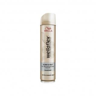 Wellaflex Glanz und Halt Haarspray ulta starker Halt natürliches Styling 250ml