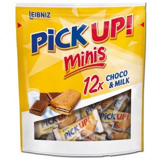 Leibniz PiCK UP Minis Choco und Milch mit Milchcreme 12 Stück 127g