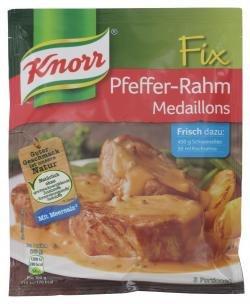 Knorr Fix Pfeffer-Rahm Medaillons (35g)