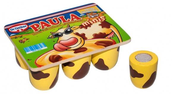 Kaufladen Paulas Minis aus Holz Spiellebensmittel Kuhflecken
