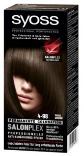 Schwarzkopf Henkel Syoss Color 4 98 Paris Brown World ?115?g 3er Pack